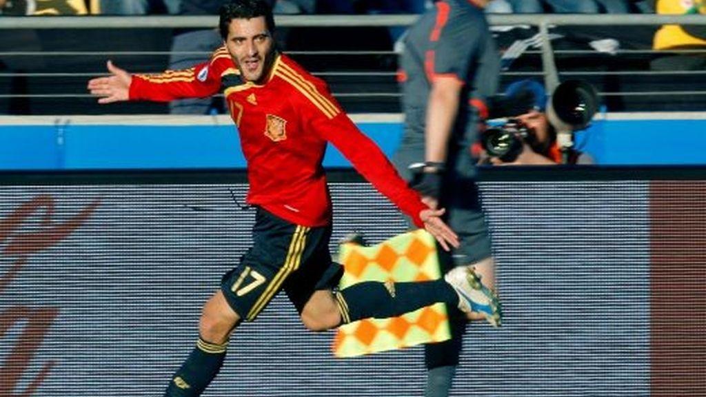 España-Sudáfrica, en imágenes