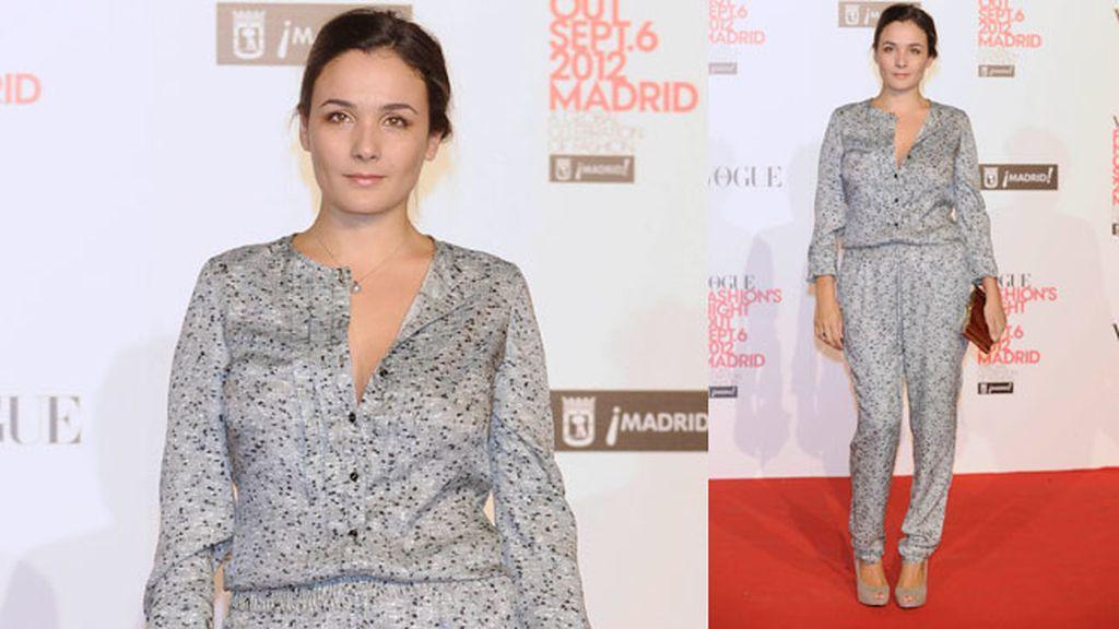Ana de Armas, Úrsula Corberó y Raquel del Rosario, en la noche de la moda