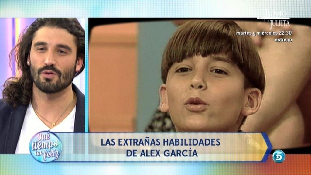 Álex García visita '¡Qué tiempo tan feliz!'