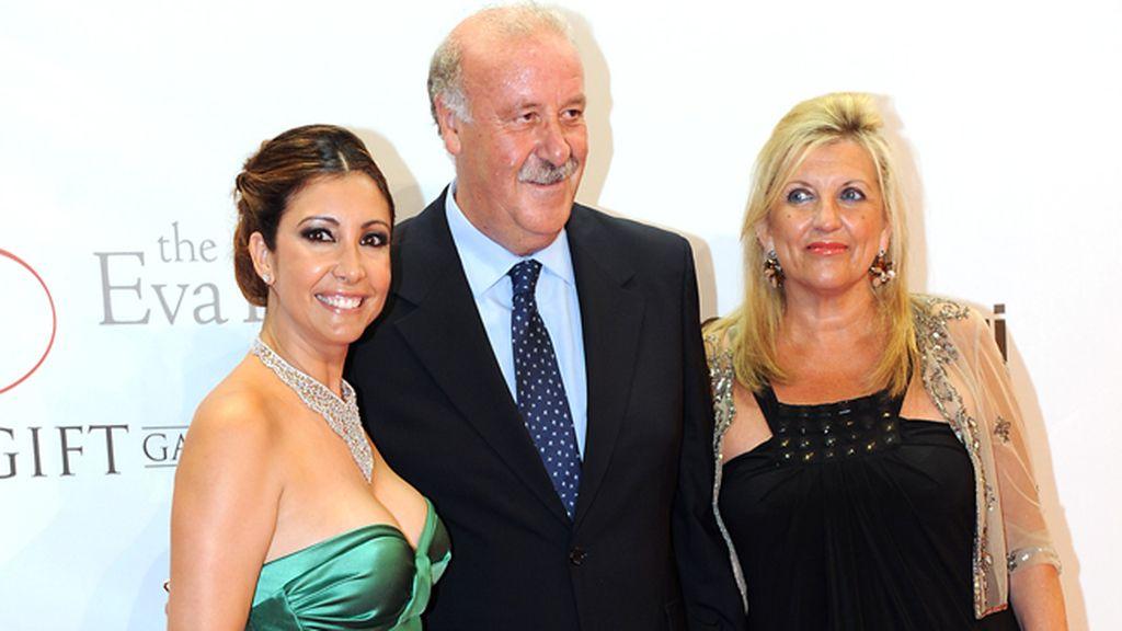 María Bravo, Vicente del Bosque y su mujer, Trinidad López