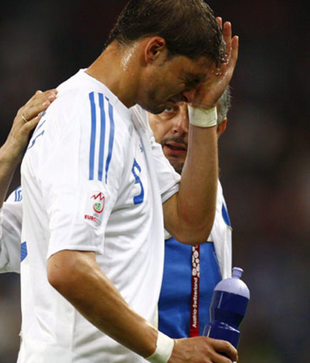 Grecia se despide de la Eurocopa
