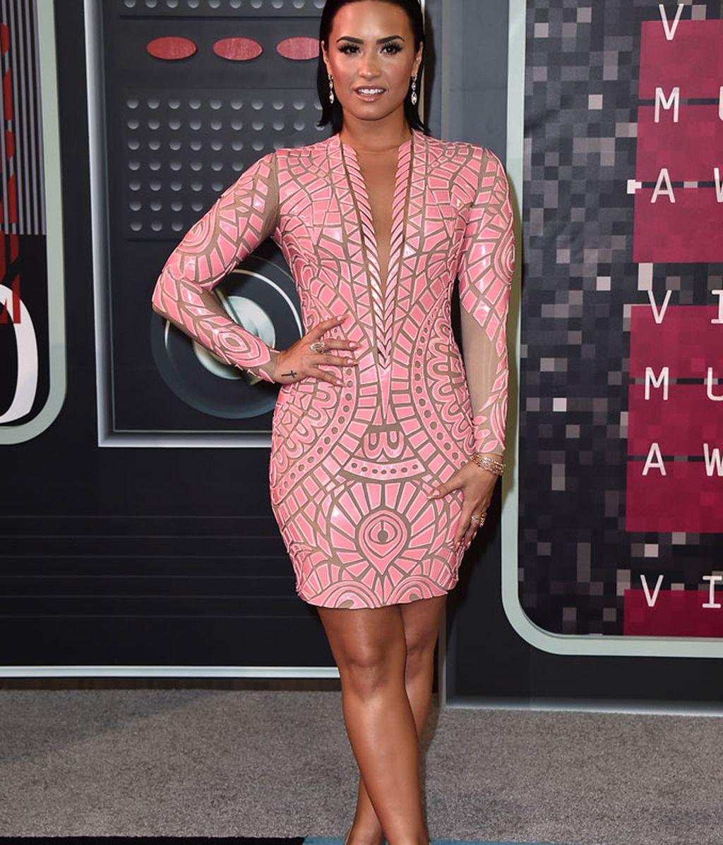 Demi Lovato de Nicolas Jebran en los MTV