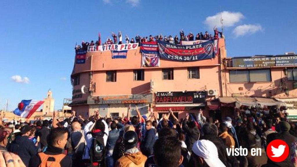 'Los Cuervos' calientan su primer partido en Marruecos