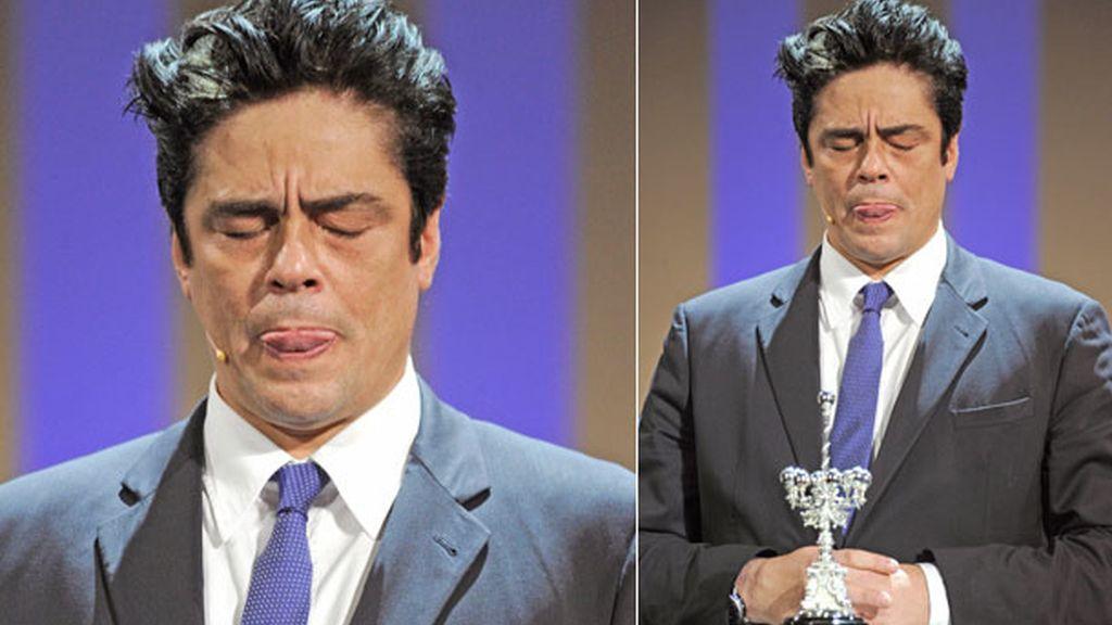 El puertorriqueño protagonizó los momentos más divertidos de la gala