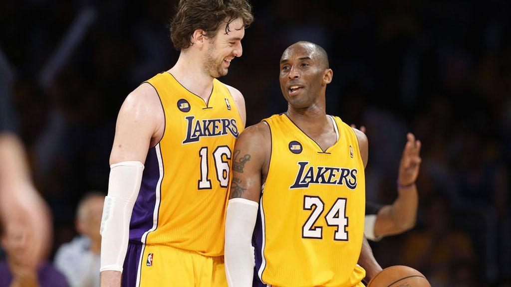 Kobe Bryant es quinto en el ranking con 61,5 millones. Su ya ex compañero Gasol (21,8) es el 58º