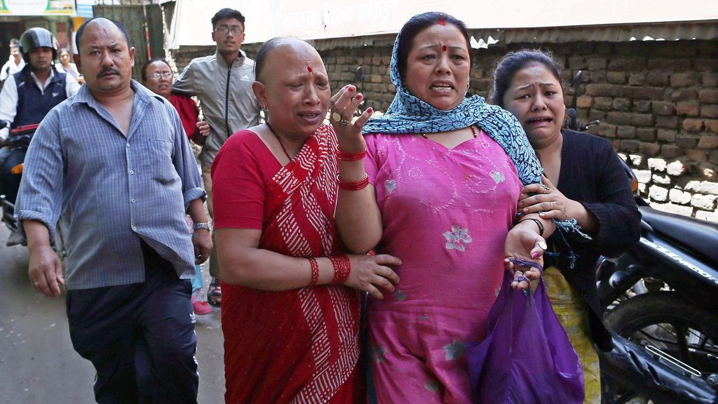 Pánico en Katmandú por el nuevo terremoto en Nepal