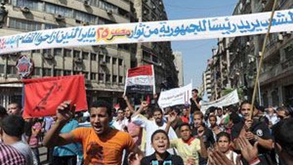 Indignados de Egipto