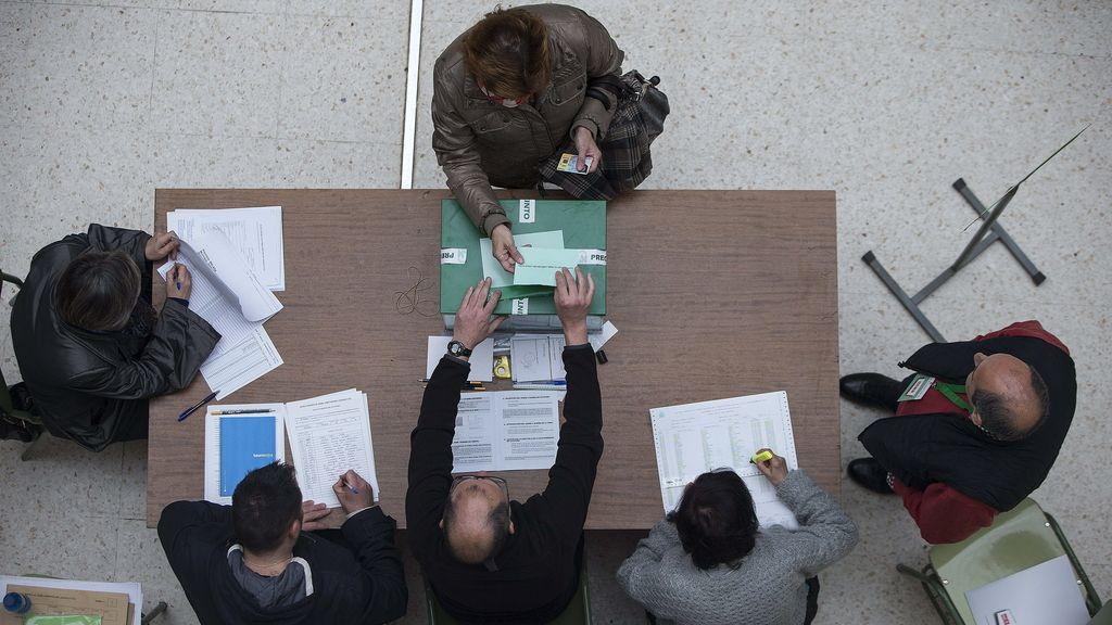 Jornada electoral en Andalucía