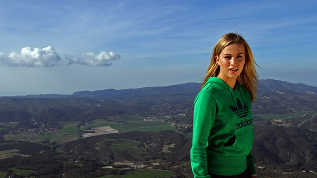 La piloto Carmen Jordá regresa a Alcoy desde Florida