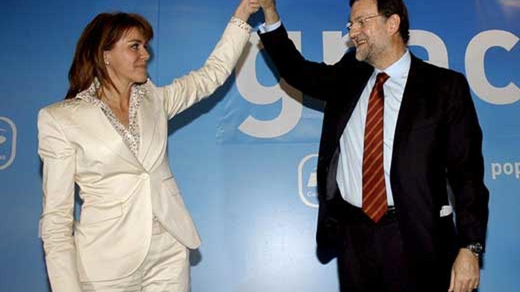 Cospedal, número dos de Rajoy