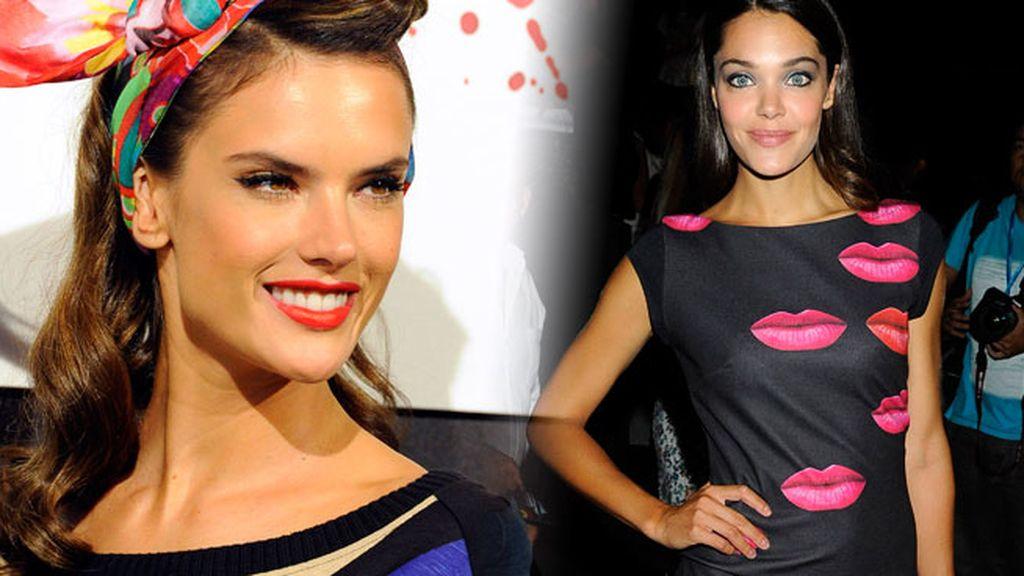 Alessandra Ambrosio, Ana Rujas y otras caras famosas en el front row de Desigual