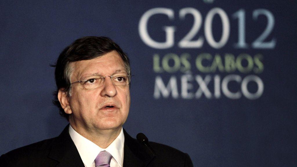 José Durao Barroso, Presidente de la Comisión europea, en la Cumbre del G-20