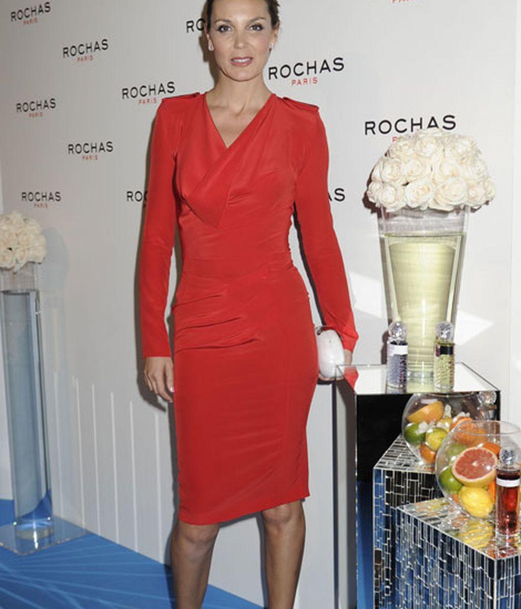 Mar Flores triunfó con su vestido rojo