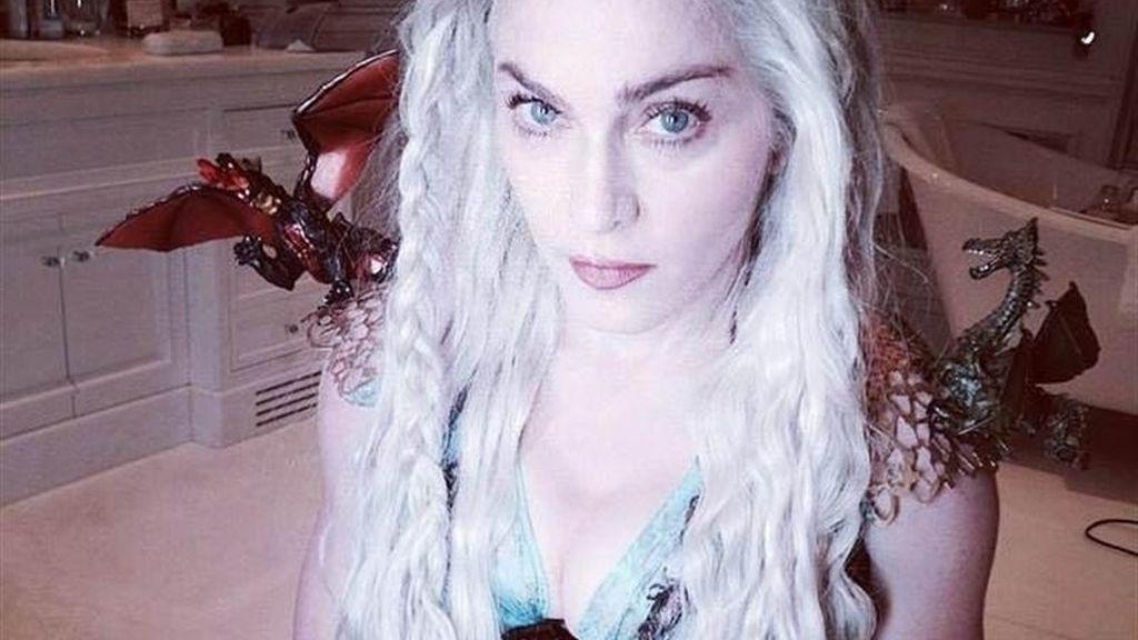 Madonna, disfrazada de Khaleesi