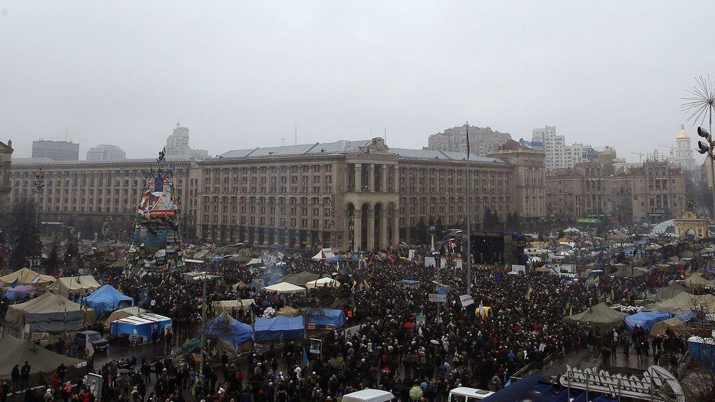 Manifestación en Kiev