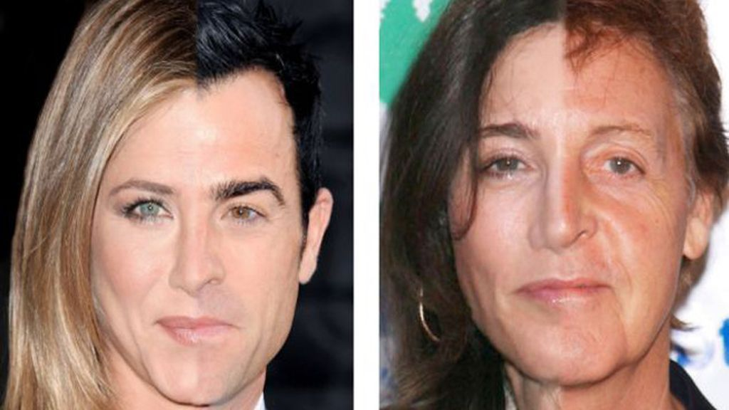 Jennifer Aniston y Justin Theroux/ Paul McCartney y Nancy