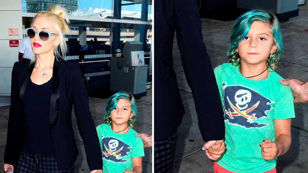 Gwen Stefani y su hijo Kingston