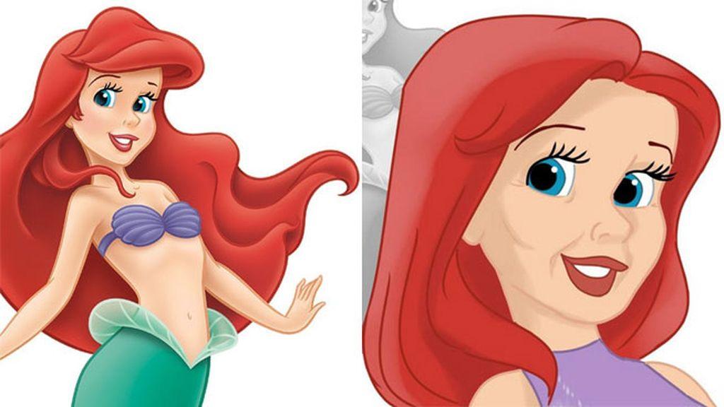 Ariel, 'La sirenita' (1989). En la película tenía 16 años, así le sientan los 42.