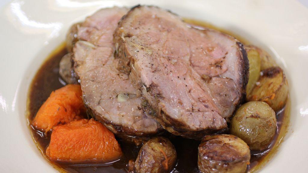 Cerdo asado día de Reyes, en 'Robin Food'