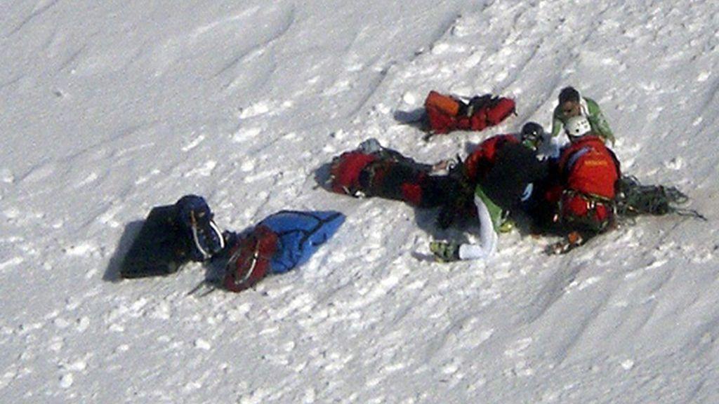 Fallecen dos escaladores tras sufrir una caída en una vía en la Sierra de Gredos
