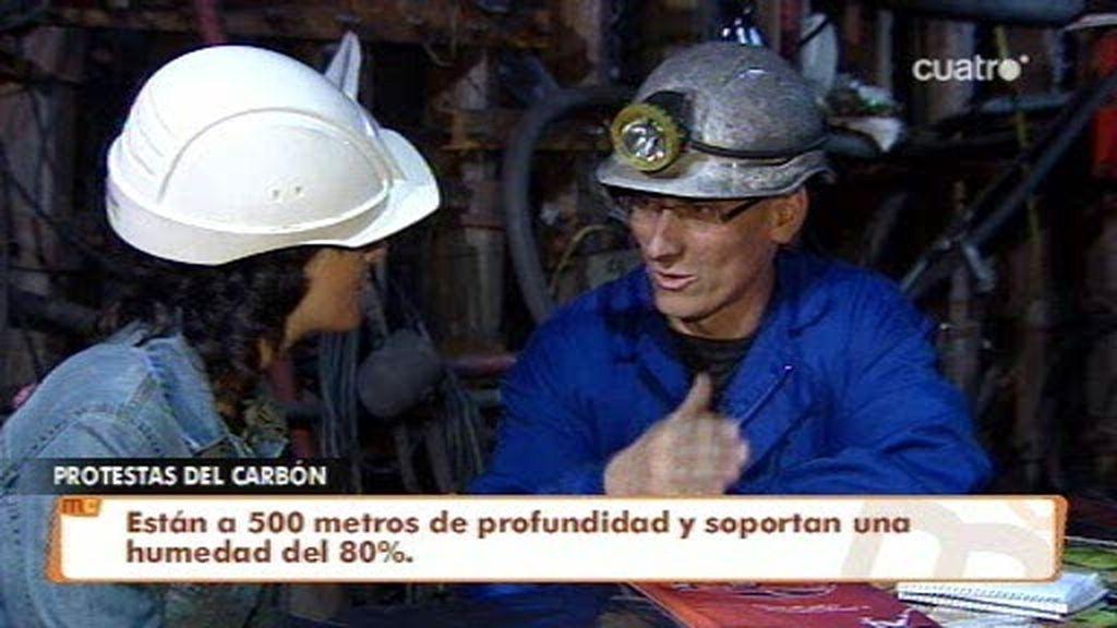 Los mineros preparan un paro general de cuatro días