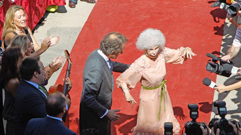 El baile de la Duquesa y Alfonso, paso a paso