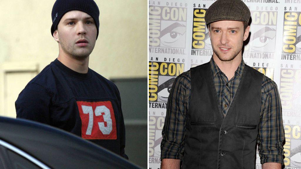 Ryan Philippe y Justin Timberlake