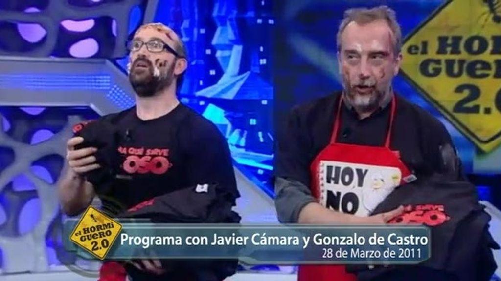 Javier Cámara... a cámara lenta