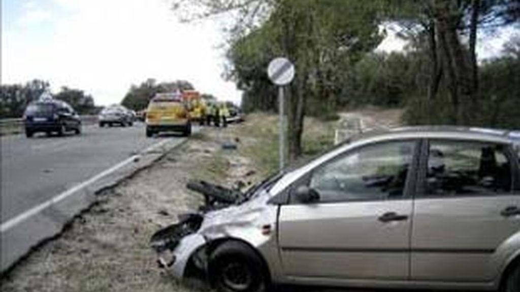 Alfredo Pérez Rubalcaba ha explicado que el 23% de los muertos no llevaba el cinturón.