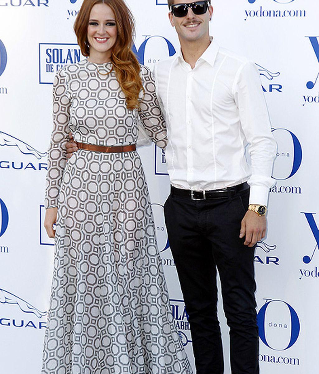 Ana Polvorosa y Luis Fernández, juntos y enamorados en la noche madrileña
