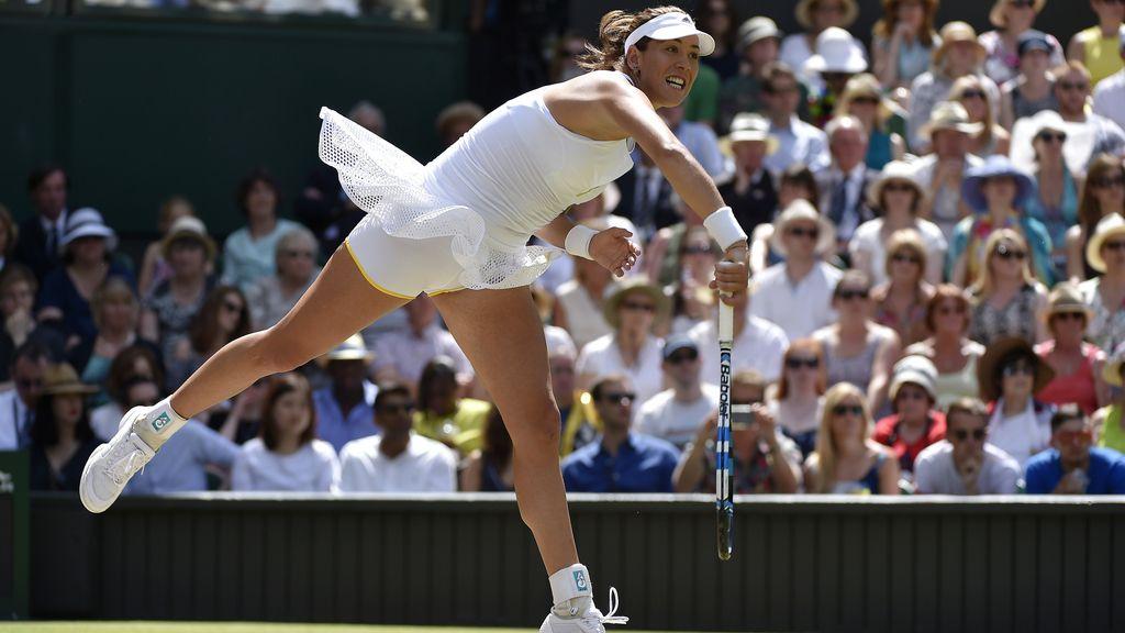 Las mejores imágenes de la final histórica de Garbiñe Muguruza en Wimbledon