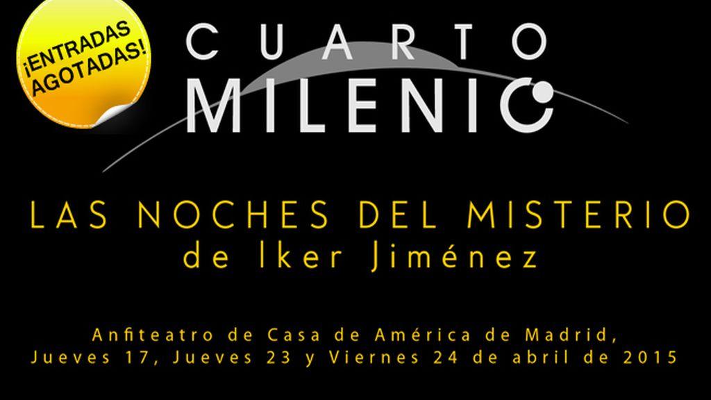 Cuarto Milenio la exposición y Las noches del misterio. Entradas a la venta en www.taquillamediaset.es