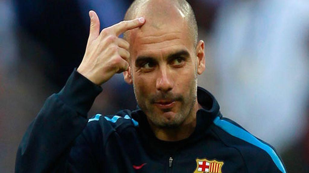 Guardiola pide cabeza