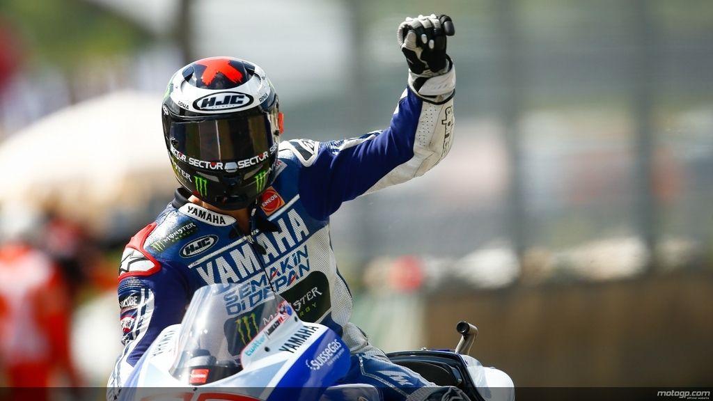 Jorge Lorenzo, feliz con su segundo puesto en la clasificación de Mugello