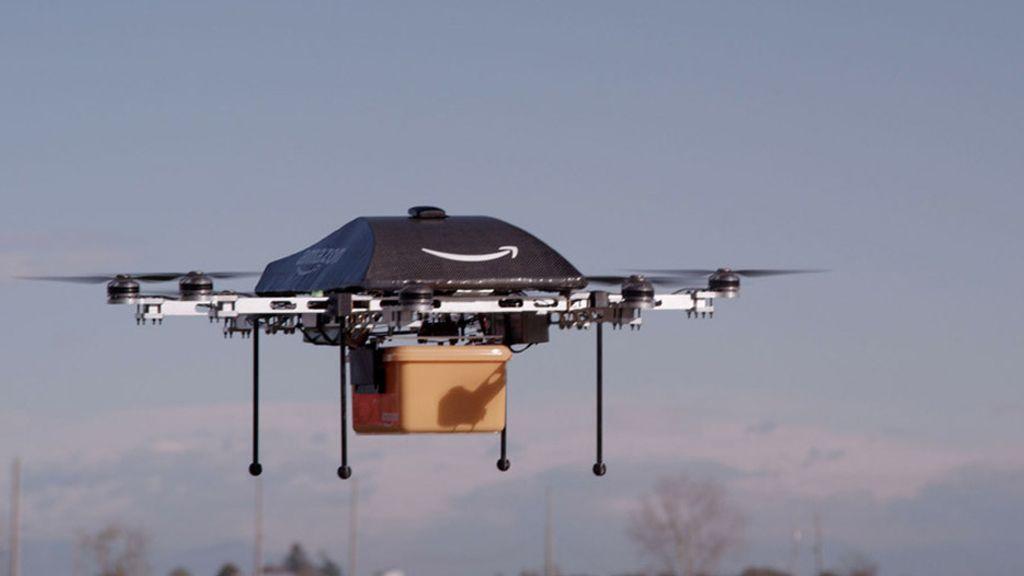 Amazon realizará entregas mediante drones voladores