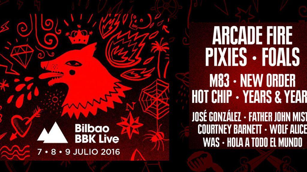 Undécima edición del Bilbao BBK Live 2016