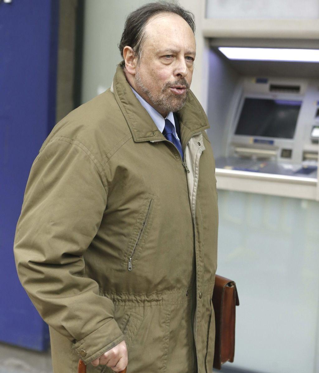 Luis Fraga a su llegada a la Audiencia Nacional