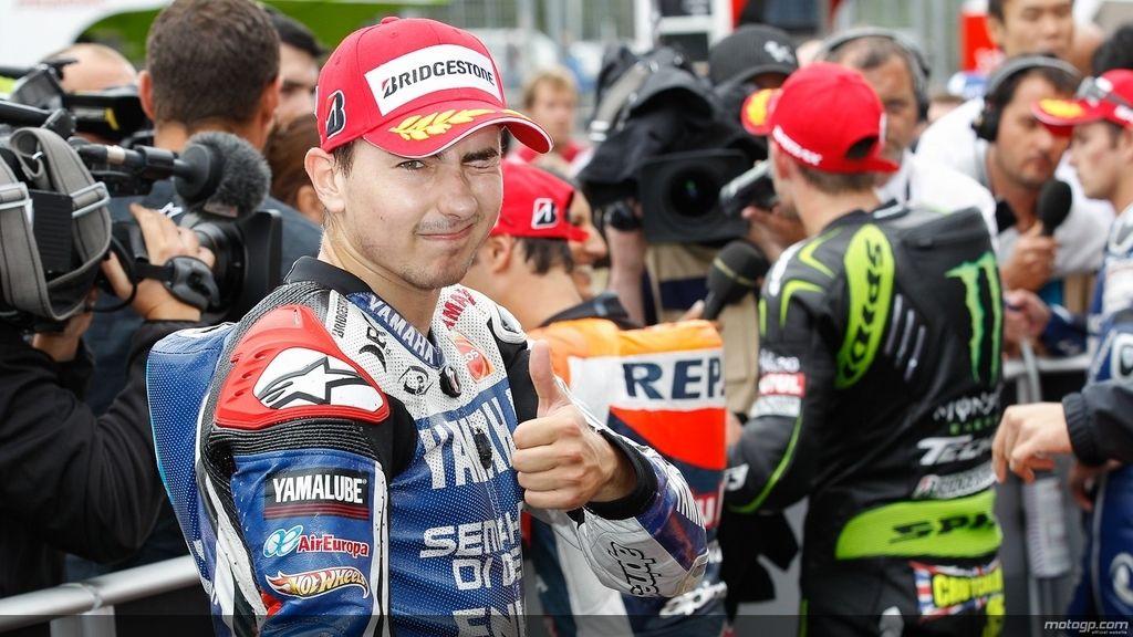 Lorenzo, feliz pese a perder el duelo contra Pedrosa en Brno