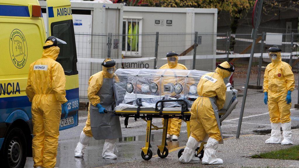 Activado el procolo del ébola en A Coruña tras detectar un caso sospechoso