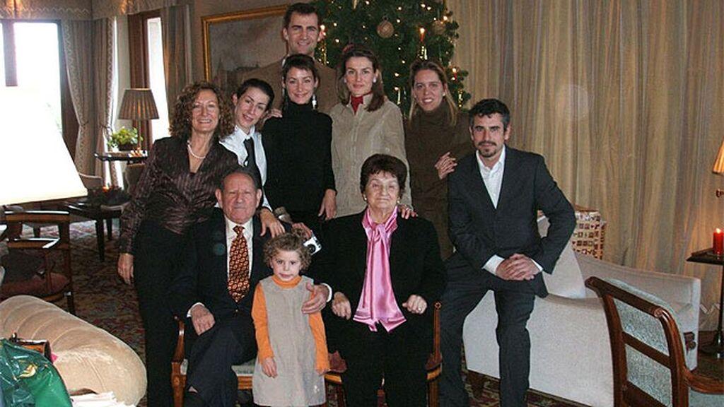 Las imágenes pertenecen a las primeras Navidades de Letizia en Zarzuela