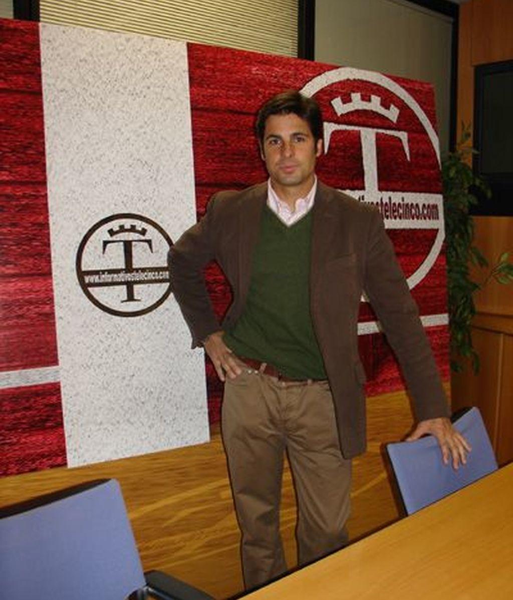 Francisco Rivera, en Informativos Telecinco