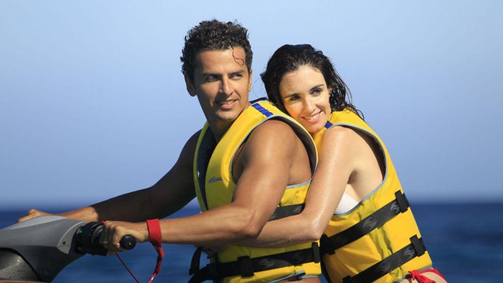 Paz Vega y su marido Orson Salazar: románticas vacaciones sin fin