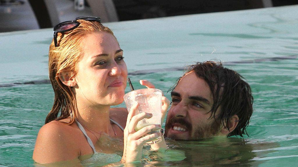 Miley Cyrus aprovecha antes de la boda