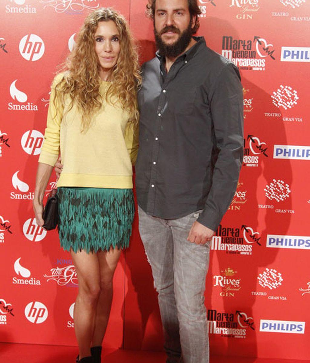 Borja Thyssen acudió junto a su mujer, Blanca Cuesta