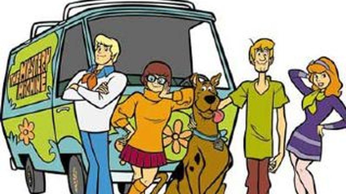 """Imagen de la conocida serie de dibujos animados """"Scooby Doo""""."""