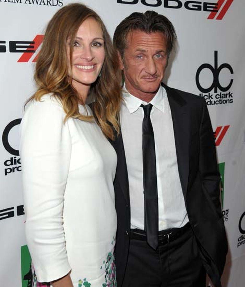 Julia Roberts y Sean Penn