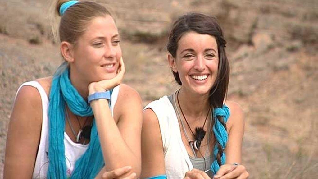 Elisabeth Reyes y Noelia López