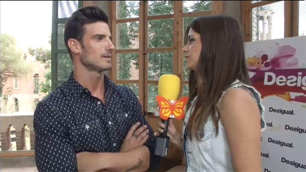 Aitor Ocio habla para 'Cazamariposas Fresh'