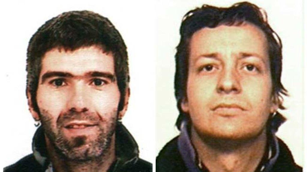 Detenidos los etarras Jon Lizarribar y Ruben Gelbentzu, relacionados con cuatro atentados sin víctimas mortales