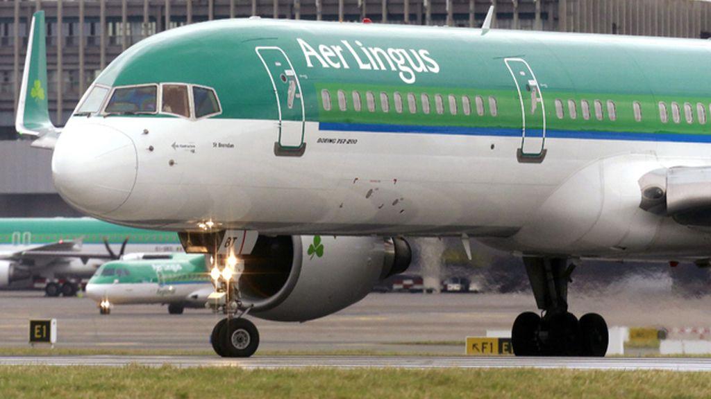Un pasajero de Aer Lingus muere después de morder a otro en pleno vuelo a Dublín